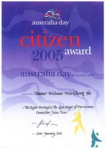 Citizen Award 2005