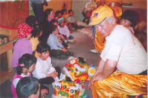 Master Ho Teaching Children